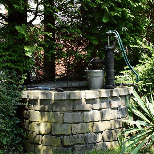 bomba de agua manual para pozo
