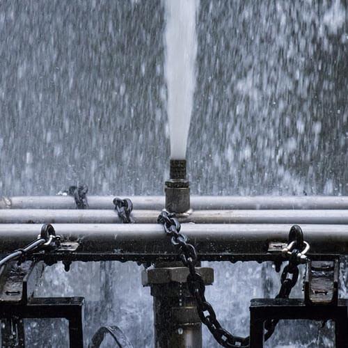 Presión del agua