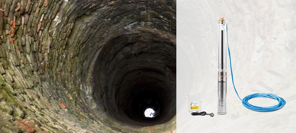 Bomba extractora de agua para pozos