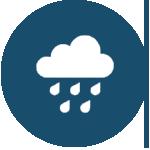 lluvia icono
