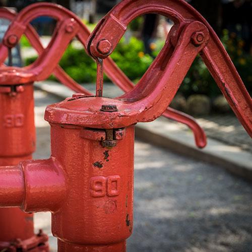 Bomba de agua manual de palanca